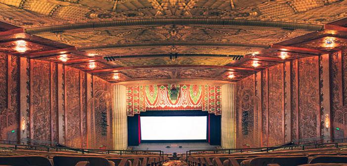 سالن های سینما دارای طراحی، معماری و دکوراسیون جالب