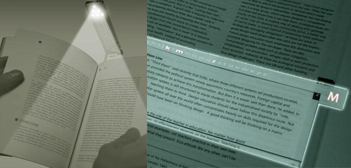 نشانه گذار کتاب دارای لامپ led و نشانه گذار همراه با چراغ مطالعه