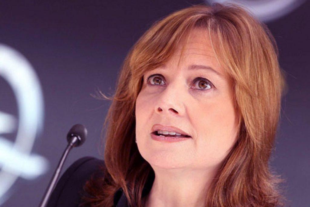 ماری بارا مدیر عامل اجرایی شرکت جنرال موتورز